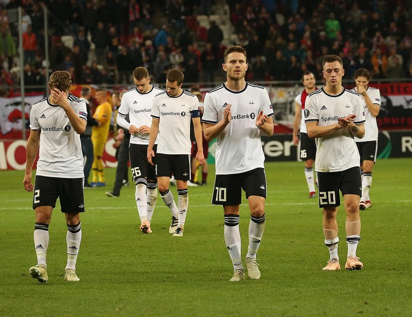 Zespół Rosenborga Trondheim /AFP