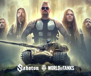Zespół Sabaton i gra World of Tanks prezentują nową piosenkę, teledysk i czołg