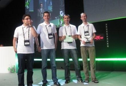 Zespół Together, który zdobył trzecie miejscie za Interoperacyjność. /INTERIA.PL