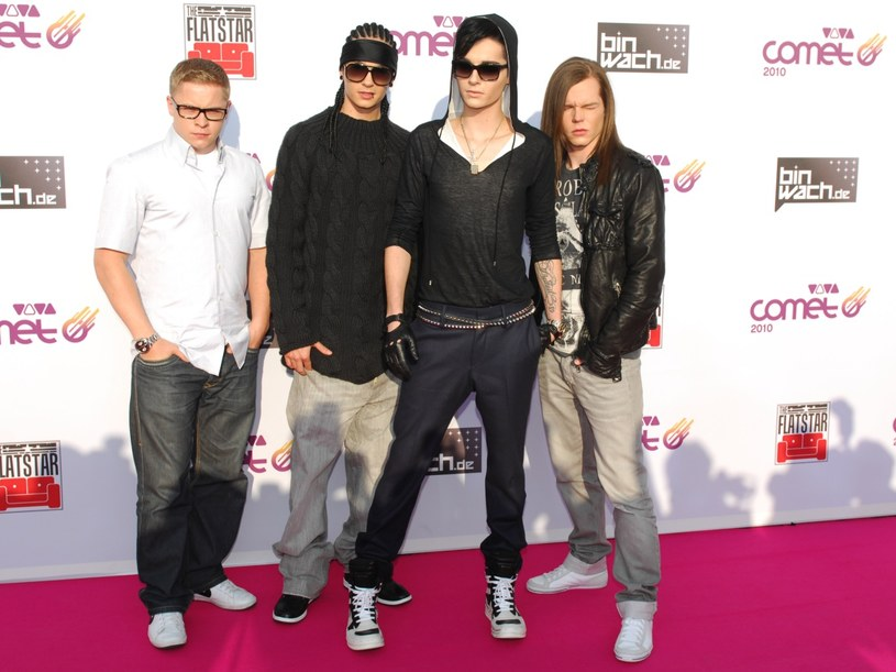 Zespół Tokio Hotel - klasyka stylu emo   /Getty Images/Flash Press Media