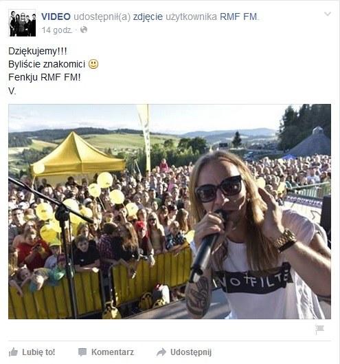 Zespół Video dziękuje za dzień spędzony z mieszkańcami Niedzicy / Facebook /&nbsp /