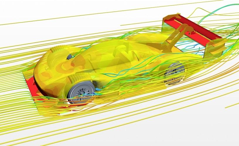 Zespół Volkswagena korzystał m.in. z symulacji komputerowych /materiały prasowe