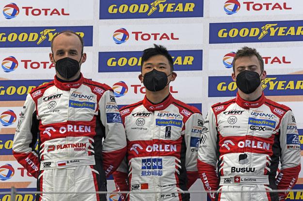 Zespół, w barwach którego jeździ Robert Kubica, wygrał czterogodzinne zmagania na austriackim torze Red Bull Ring.zespół, w barwach którego jeździ Robert Kubica, wygrał czterogodzinne zmagania na austriackim torze Red Bull Ring. /mat.prasowe /
