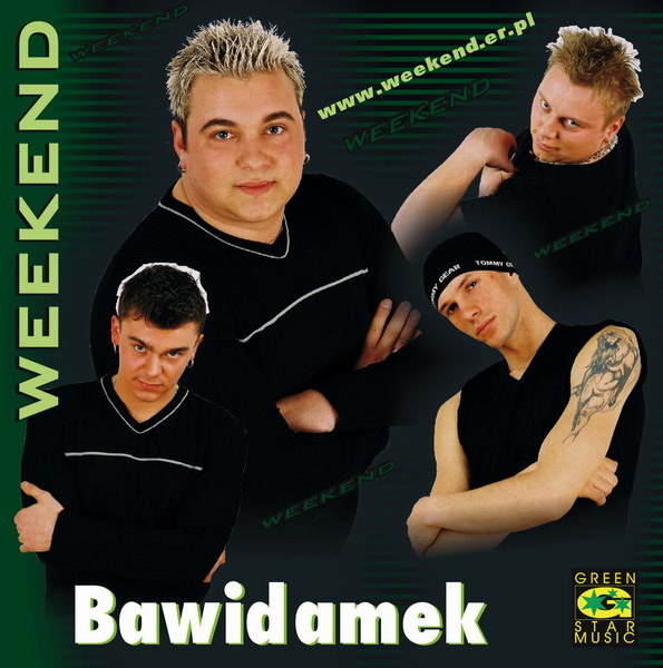 """Zespół Weekend na okładce """"Bawidamek"""" z 2004 roku /"""