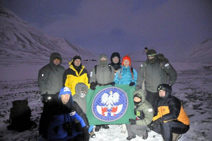 Zespół wyprawy Spitsbergen Arctic Expedition 2014 /Karol Nowicki /Polska Zbrojna
