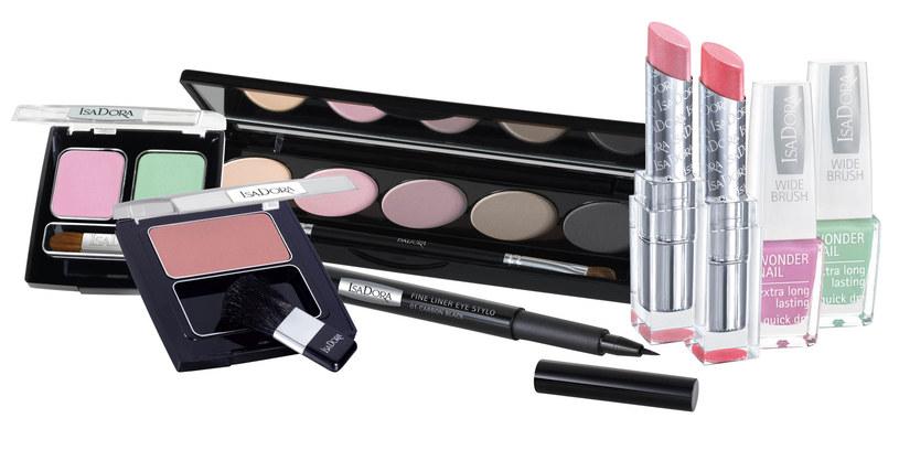 Zestaw do wiosennego makijażu IsaDora  /materiały prasowe