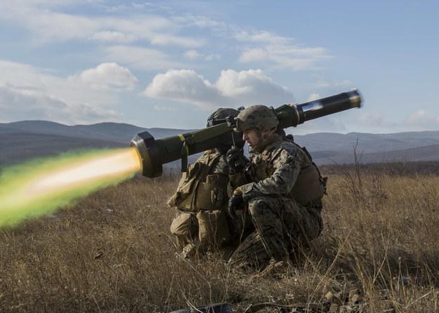Zestaw Javelin w czasie ćwiczeń /Sgt. Michelle Reif/Newscom /PAP/EPA