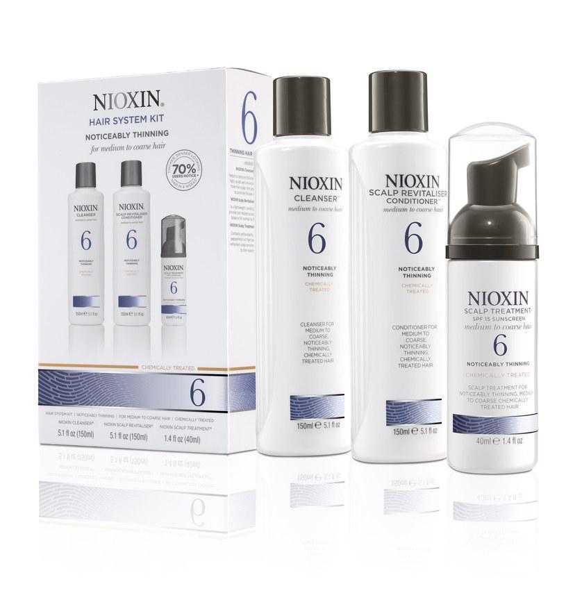 Zestaw kosmetyków Nioxin /materiały prasowe