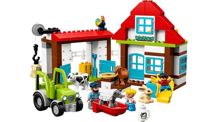 """Zestaw LEGO DUPLO """"Przygody na farmie"""" /materiały prasowe"""