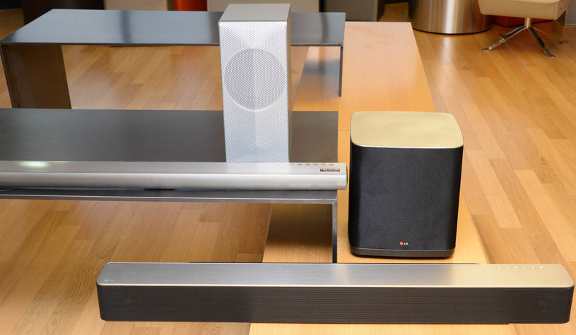 Zestaw LG Music Flow WiFi /materiały prasowe