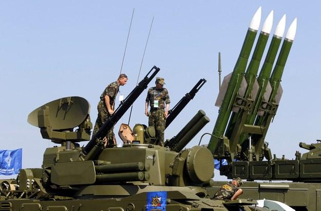 Zestaw przeciwlotniczy Buk /YURI KOCHETKOV /PAP/EPA