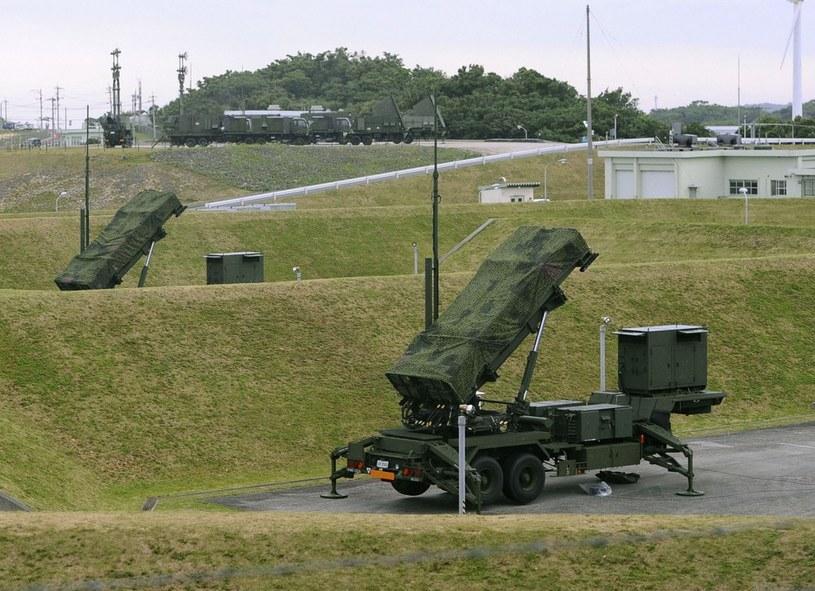 """Zestaw rakiet Patriot, które są oferowane Polsce w ramach programu """"Wisła"""" /East News"""