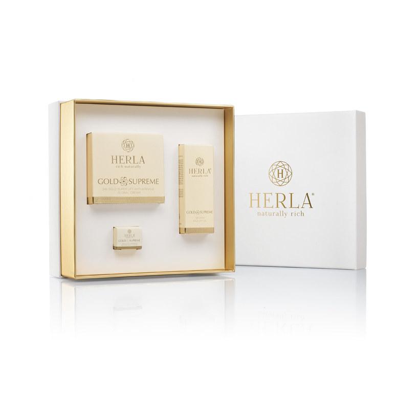Zestaw świąteczny Herla Gold /materiały prasowe