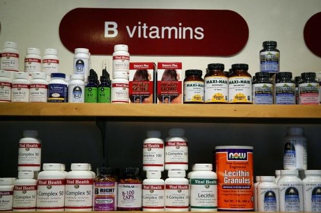 Zestaw witamin dobry na ADHD /AFP