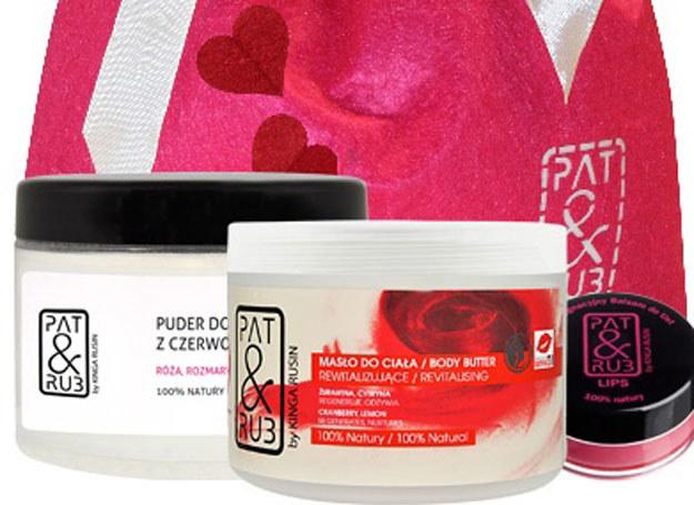 Zestawy kosmetyków specjalnie na Walentynki /materiały promocyjne