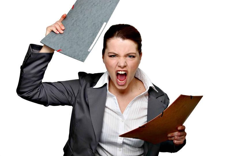 Zestresowana kobieta, to zła kobieta /123RF/PICSEL