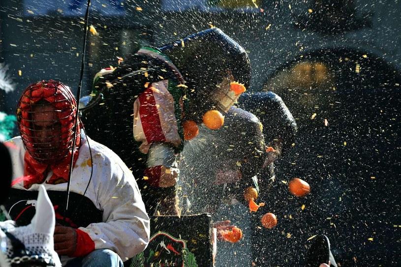 Zeszłoroczna bitwa na pomarańcze /AFP