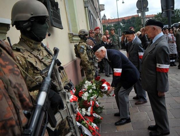 Zeszłoroczne uroczystości upamiętniające zamach na Koppego przy ul. Powiśle w Krakowie /Marek Lasyk/REPORTER  /East News