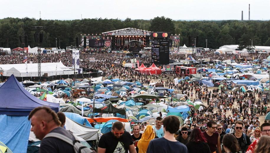 Zeszłoroczny Pol'and'Rock Festival / Lech Muszyński    /PAP