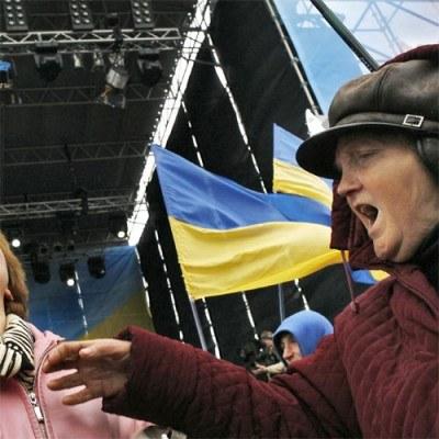 Zeszły rok był na Ukrainie autentyczną klęską ekonomiczną /AFP