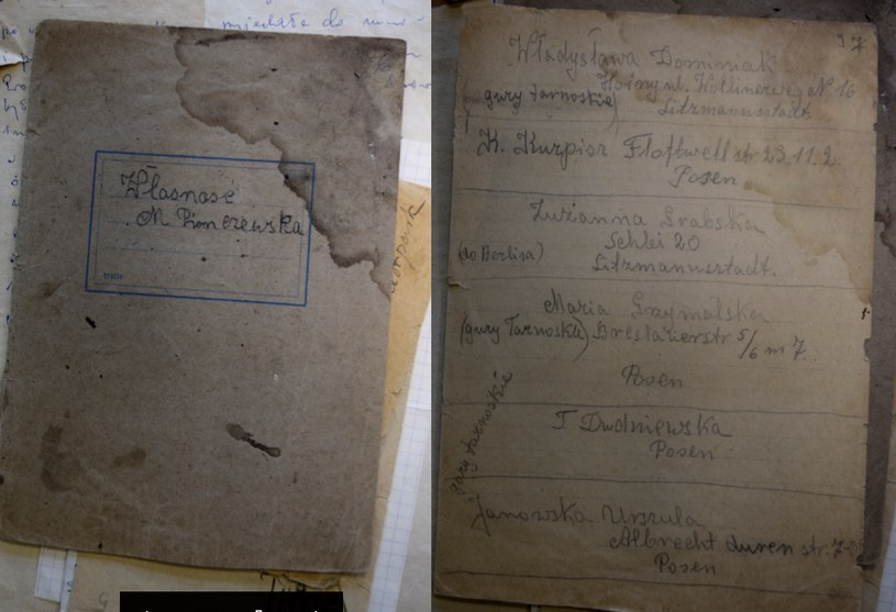 Zeszyt Marii Pinczewskiej znajduje się w Archiwum Państwowym w Kaliszu /Ewelina  Karpińska-Morek /INTERIA.PL