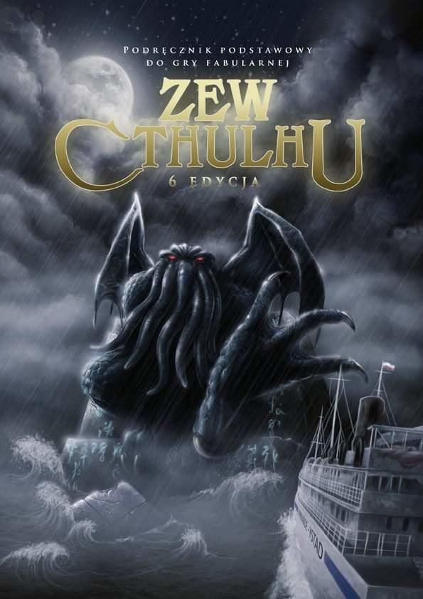 Zew Cthulhu 6 Edycja - okładka podręcznika /Informacja prasowa