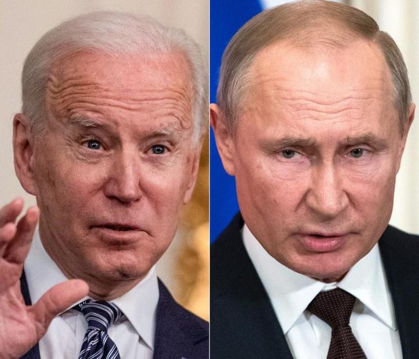 Zgłosiły się pierwsze państwa, które chcą zorganizować spotkanie prezydentów USA i Rosji /Pavel Golovkin, Eric Baradat /AFP