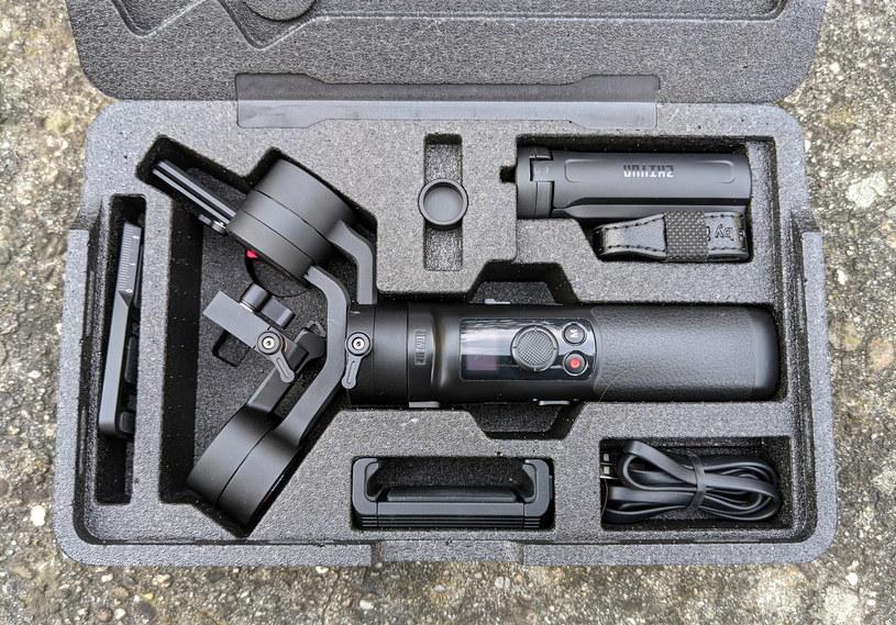 Zhiyun Crane M2 - pudełko z zestawem /INTERIA.PL