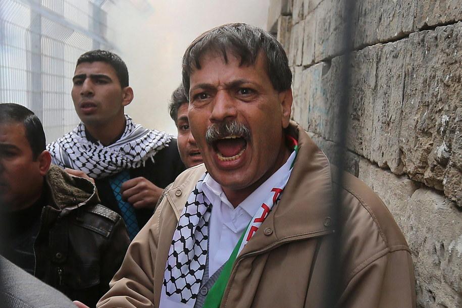 Ziad Abu Ain /ABED AL HASHLAMOUN    /PAP/EPA