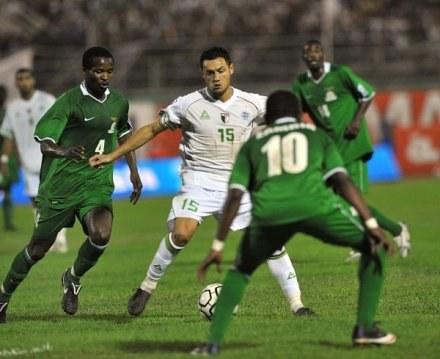 Ziani (w środku) strzelił gola dla Algierii /AFP