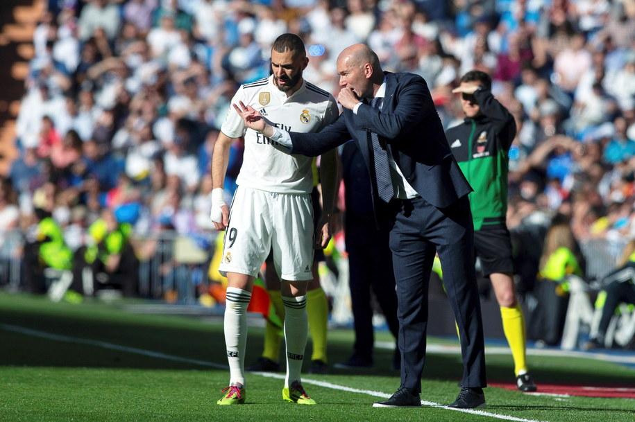 Zidane postawił na zawodników, którzy nie cieszyli się zaufaniem poprzedniego trenera /Rodrigo Jimenez /PAP