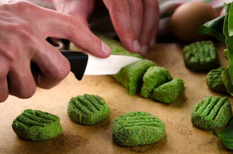 Zielone gnocchi /123RF/PICSEL