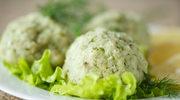 Zielone kulki z ziemniaków