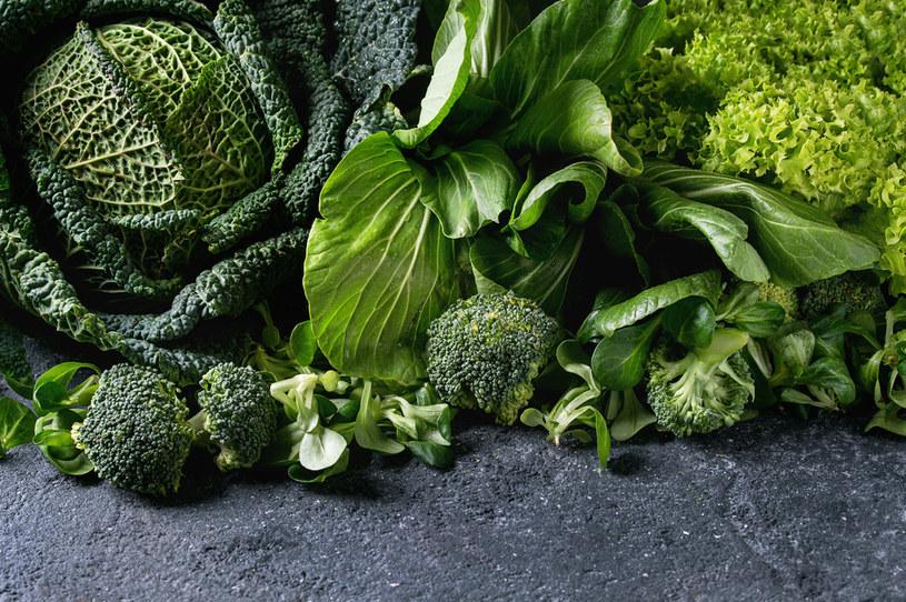 Zielone warzywa to podstawa każdej diety /123RF/PICSEL