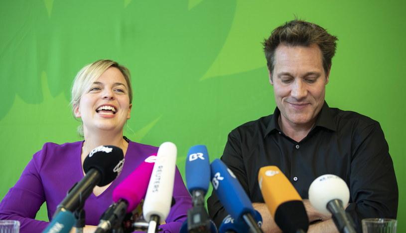 Zieloni cieszą się ze świetnego wyniku w wyborach /LUKAS BARTH-TUTTAS /PAP/EPA
