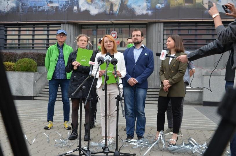 Zieloni zapowiedzieli złożenie do prokuratury zawiadomienie w sprawie budowy ogrodzenia na granicy /Małgorzata Tracz /facebook.com