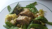 Zielono mi! czyli Poledwica wieprzowa i wiosenne warzywa