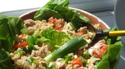 Zielono mi! nadal... czyli salatka z kasza