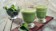 Zielony koktajl ze szpinaku polepszy wzrok