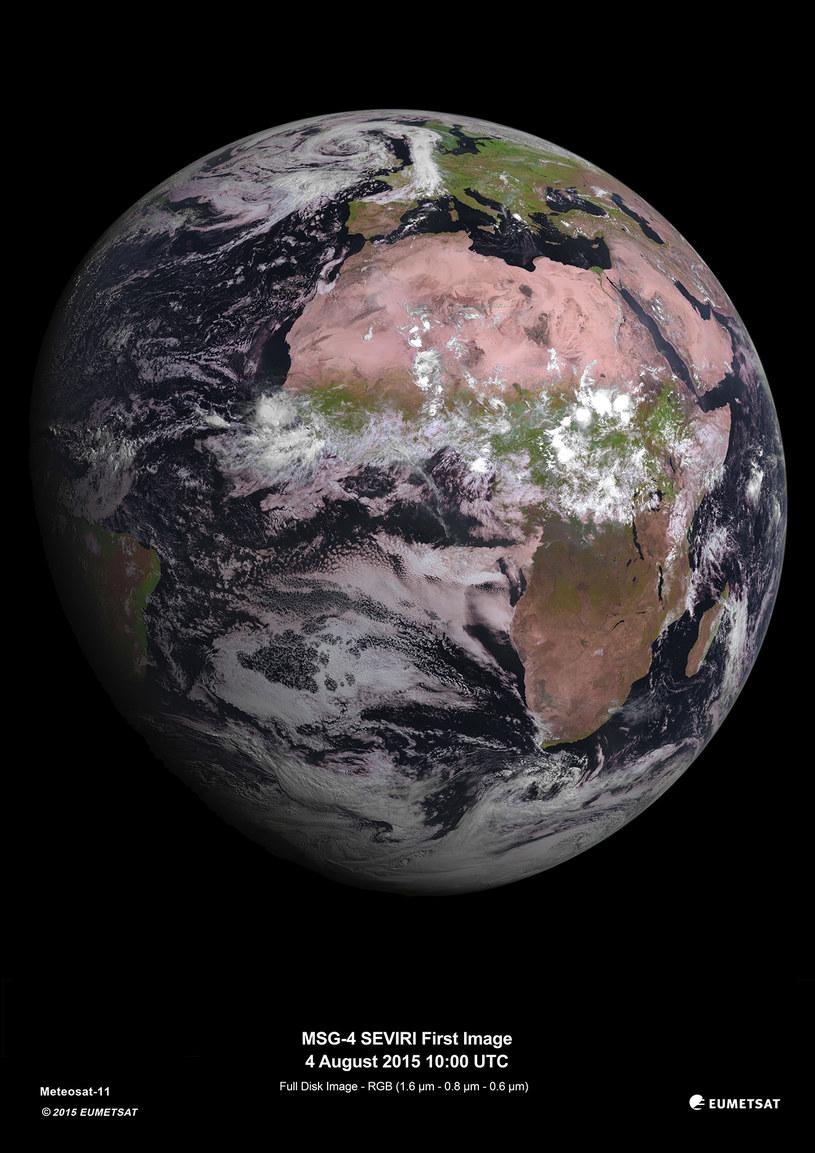 Ziemia piękniejsza niż zwykle /materiały prasowe