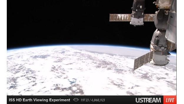 Ziemia z Międzynarodowej Stacji Kosmicznej /Internet