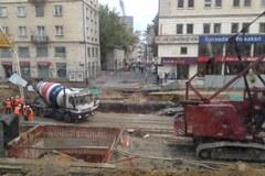 Ziemia zapadła się w centrum Warszawy, 100 osób ewakuowanych