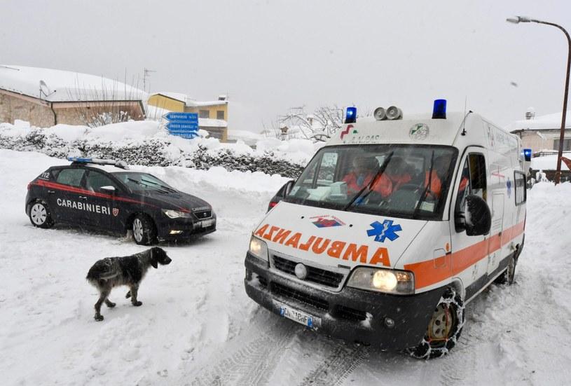 Ziemia zatrzęsła się w środę w środkowych Włoszech /CLAUDIO LATTANZIO /PAP/EPA