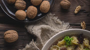 Ziemniaczane tortellini z sosem grzybowym