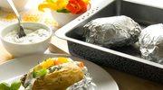 Ziemniaki faszerowane bryndzą i ziołami z grilla