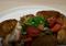 Ziemniaki hasselback z udkami kurczaka