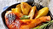Ziemniaki pieczone z cytrynowym kurczakiem