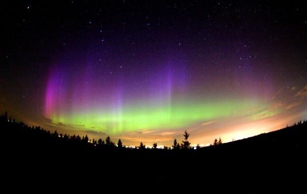 Ziemskie zorze polarne to wynik aktywności Słońca /NASA