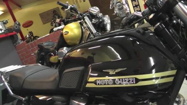 Zientarski zainteresował się motocyklami /