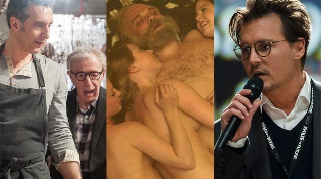 Żigolak z alfonsem (John Turturro, Woody Allen), hedonista (Pilou Asbaek), fanatyk (Johnny Depp) /materiały prasowe